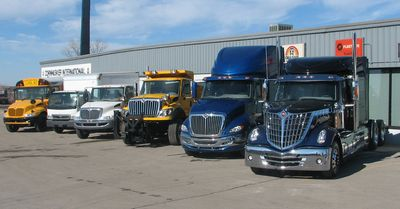 International truck fleet