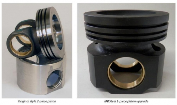 Upgraded 1 Piece Steel Pistons for CAT 3406E & C15 (single turbo) engines